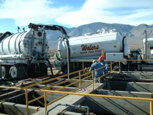 Waters Vacuum Truck Services About