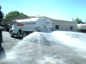 Commercial Services, Waters Vacuum Truck